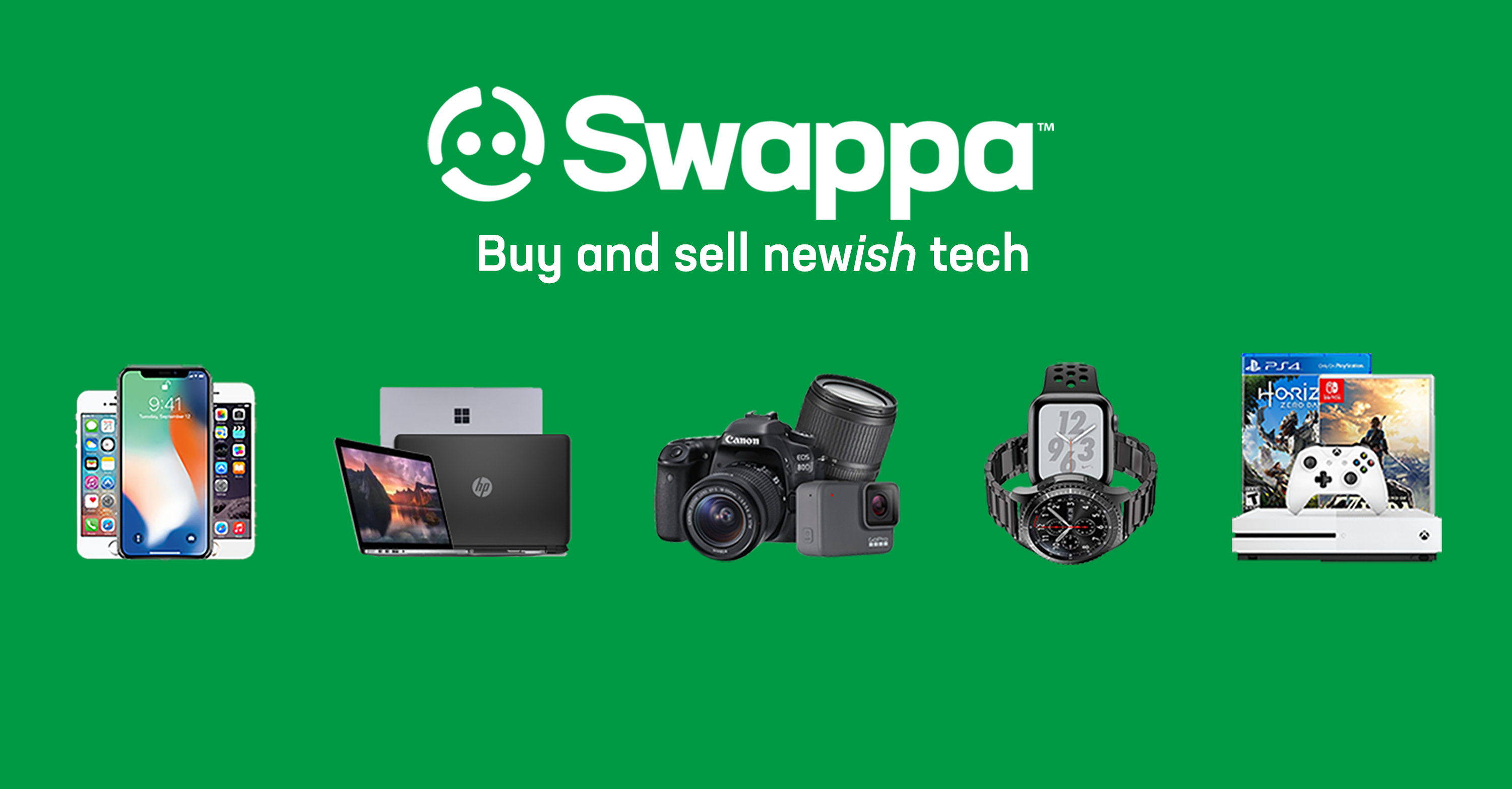 Swappa goods for cash