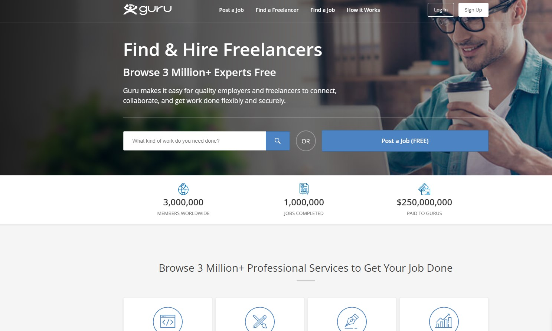 guru freelancing jobs www.globalworkfromhomes.com