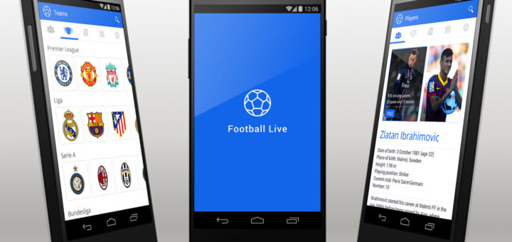 Football Live Android App