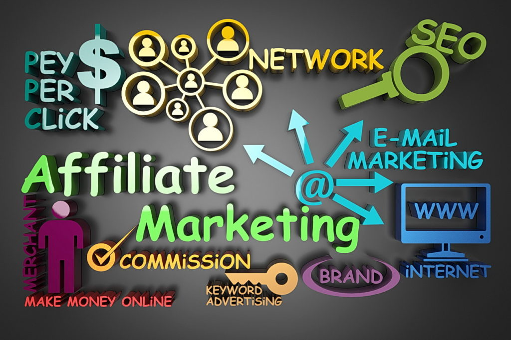 Select an affiliate network company to
