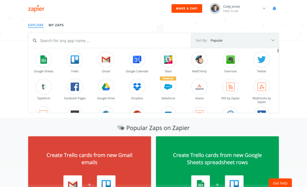 Zapier is a great tool for saving time on small, oft-repeated tasks