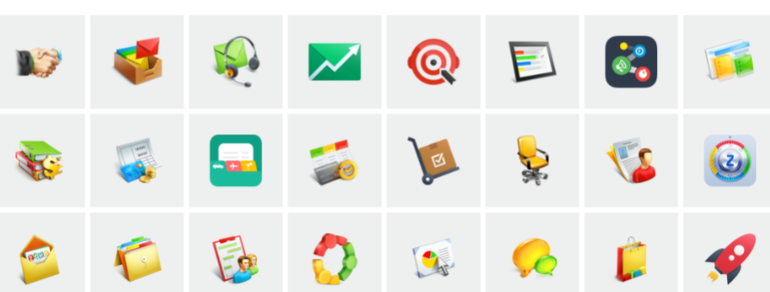 Zoho, that offers a mobile application