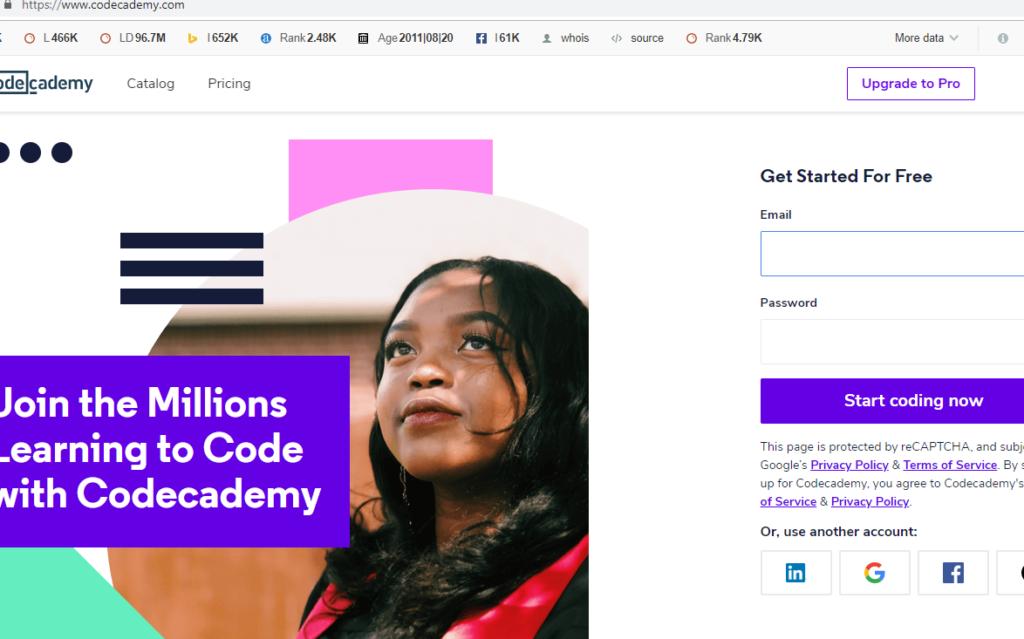 code academy-The Useful Sites Everybody