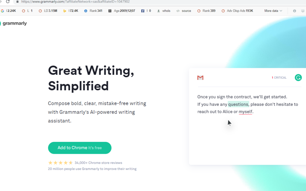 Grammarly-The Useful Sites Everybody