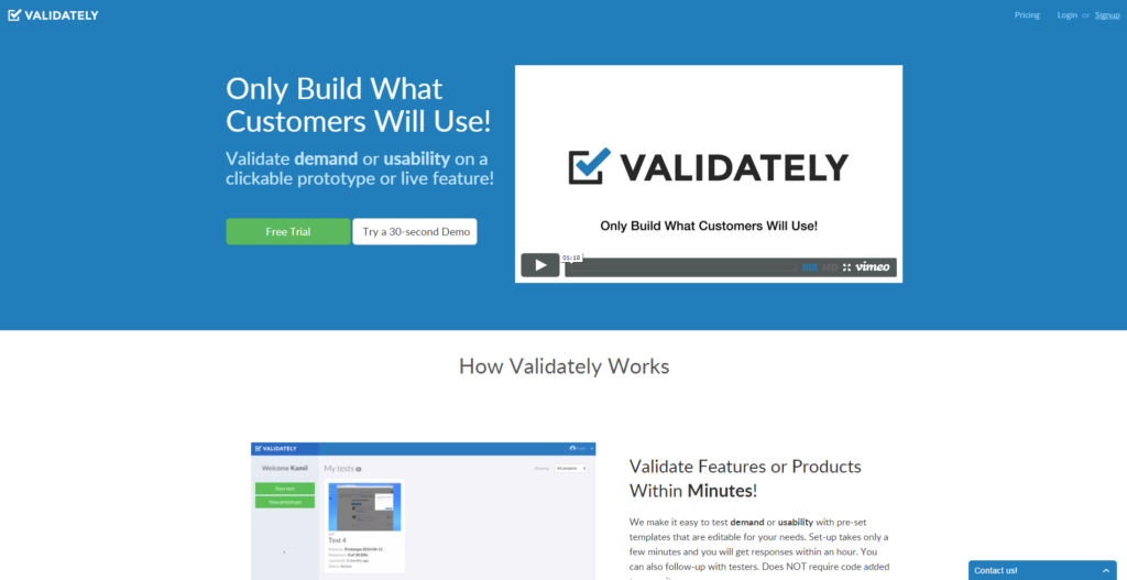 Validately -earn-money-by-testing-apps  software-testing -website