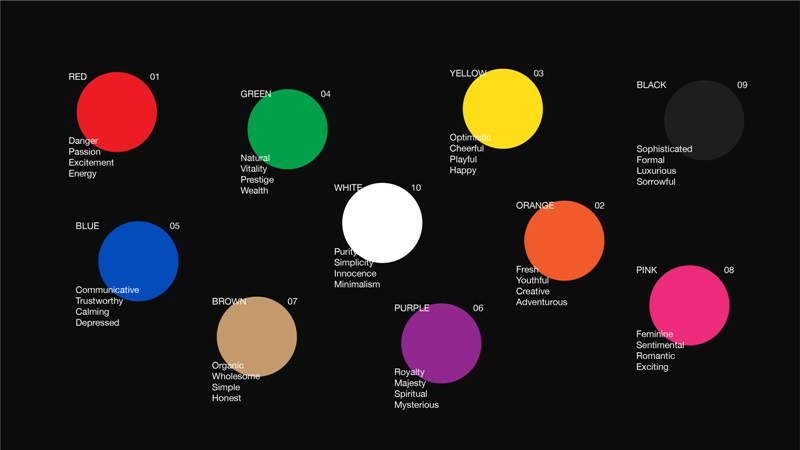 color for business  online marketing agency