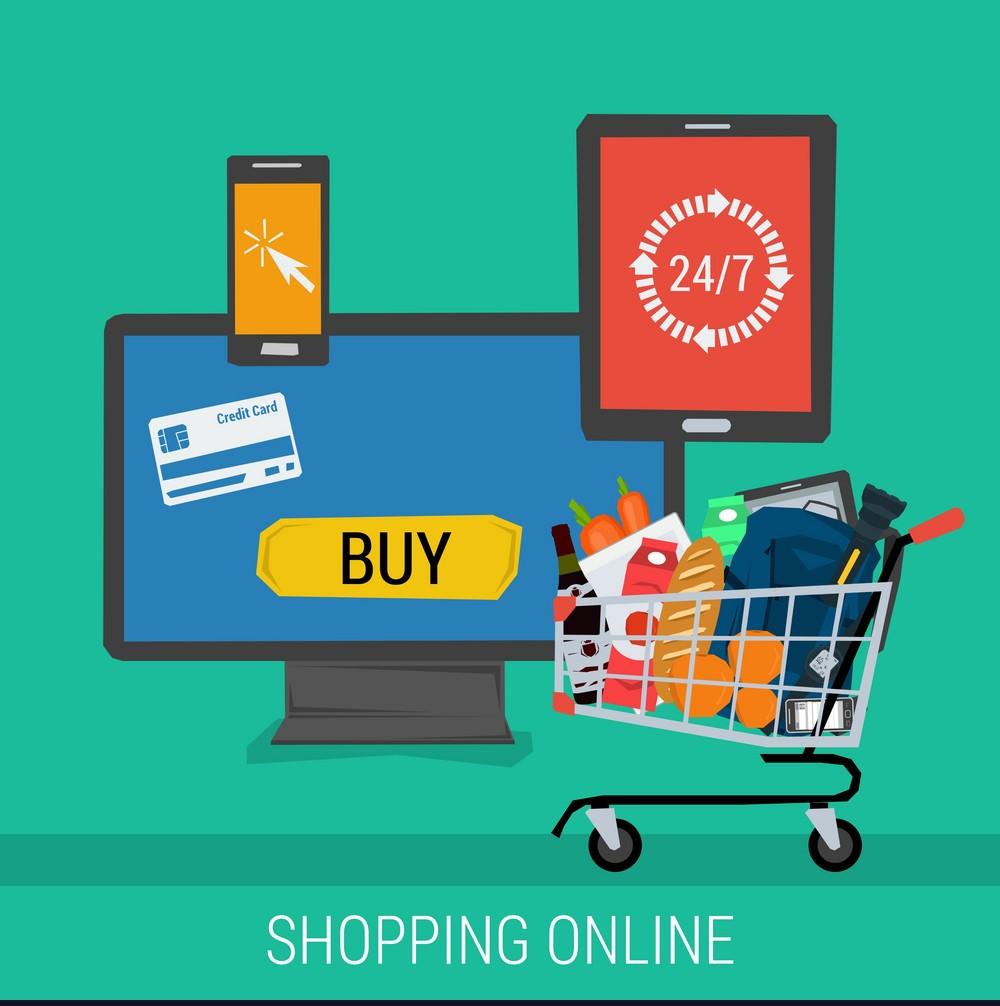online marketing shop internet-