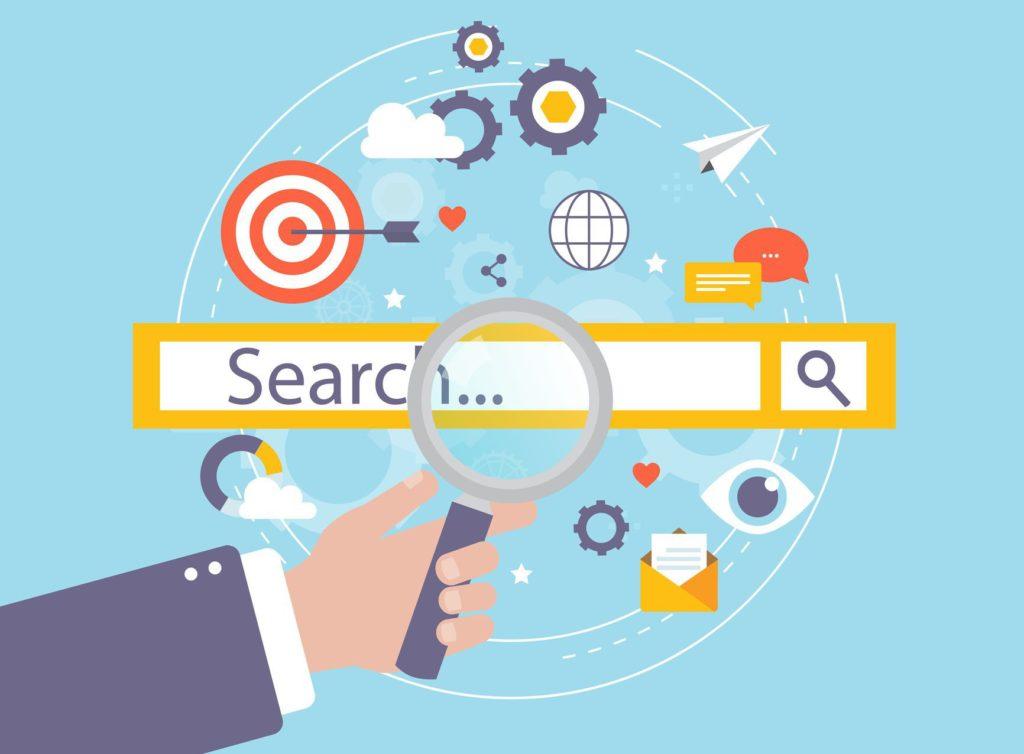 online marketing search team