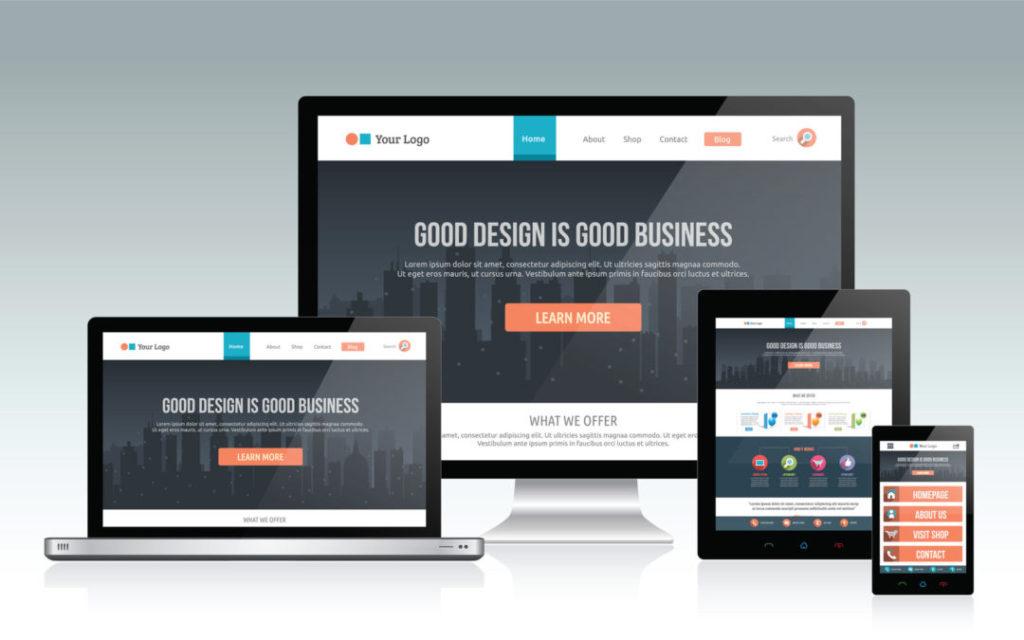website  for business  online marketing agency